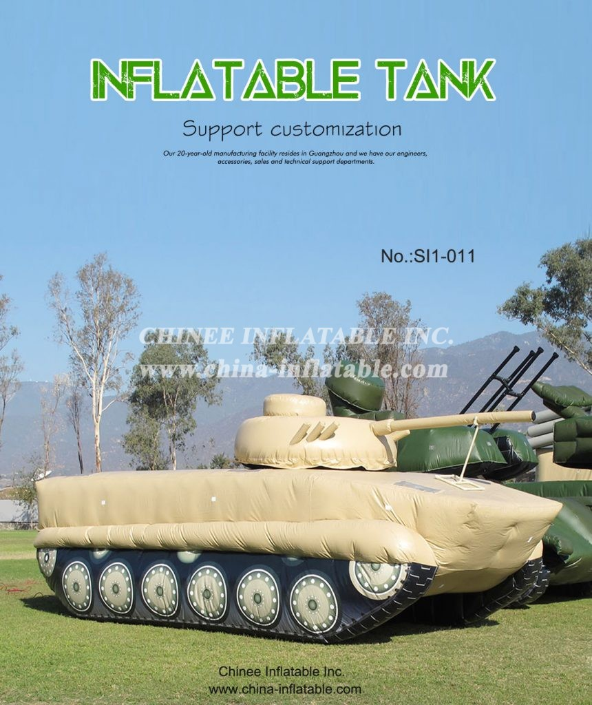 SI1-011 - Chinee Inflatable Inc.