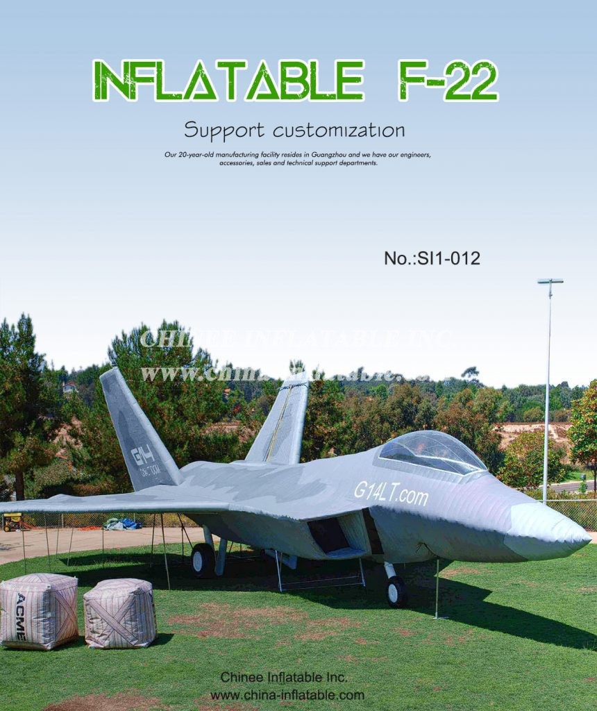SI1-012 - Chinee Inflatable Inc.