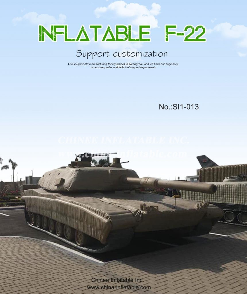 SI1-013 - Chinee Inflatable Inc.