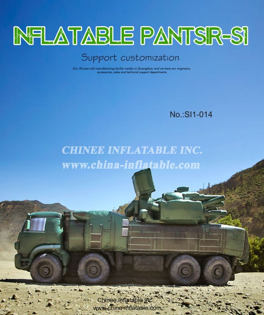 SI1-014 - Chinee Inflatable Inc.