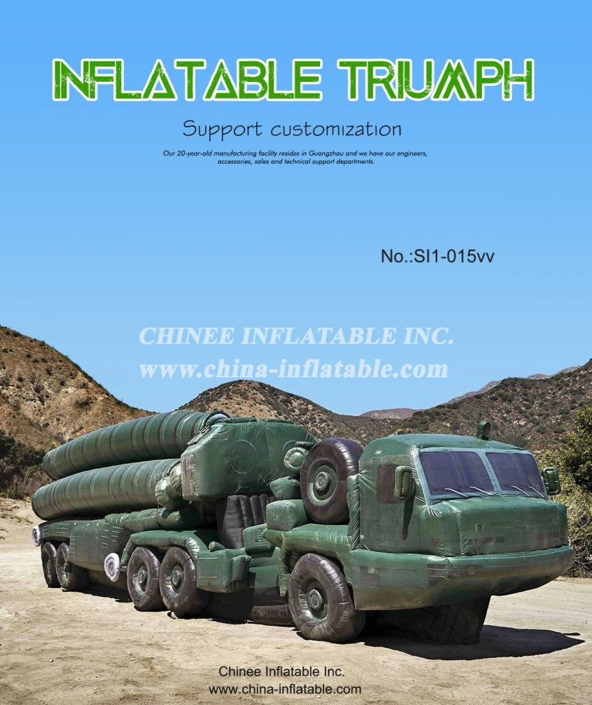 SI1-015 - Chinee Inflatable Inc.