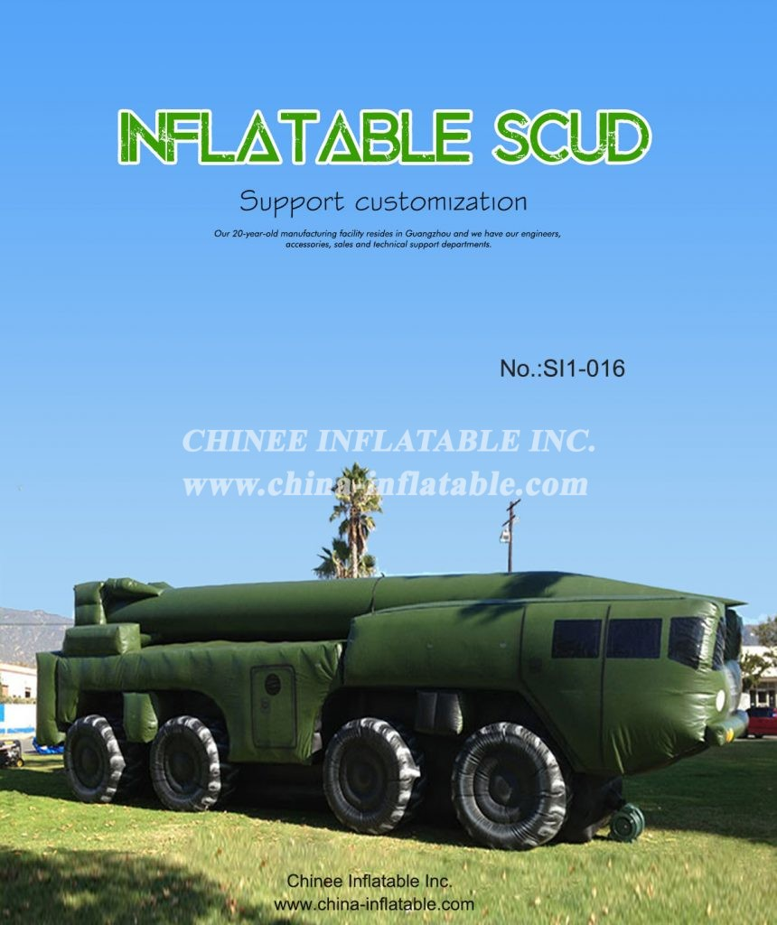 SI1-016 - Chinee Inflatable Inc.