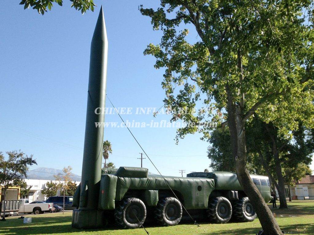 SI1-016 Inflatable Scud Missile Launcher