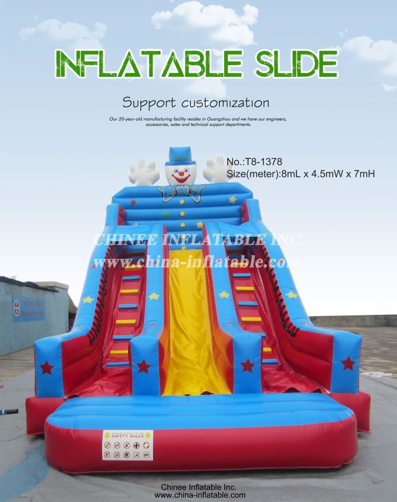 T8-1378 - Chinee Inflatable Inc.