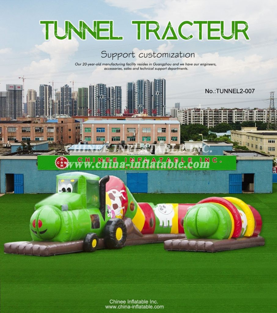 TUNNEL2-007 - Chinee Inflatable Inc.