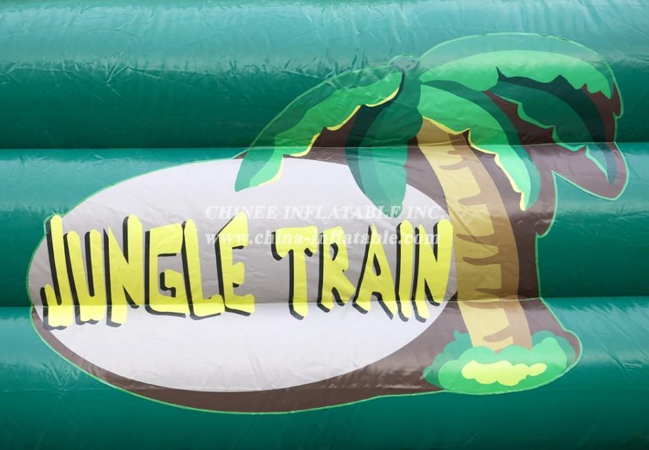 TUNNEL2-011 Train jungle