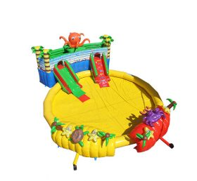 Pool2-726 octopus inflatable water park for fun