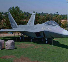 SI1-012 Inflatable F-22 Raptor Jet