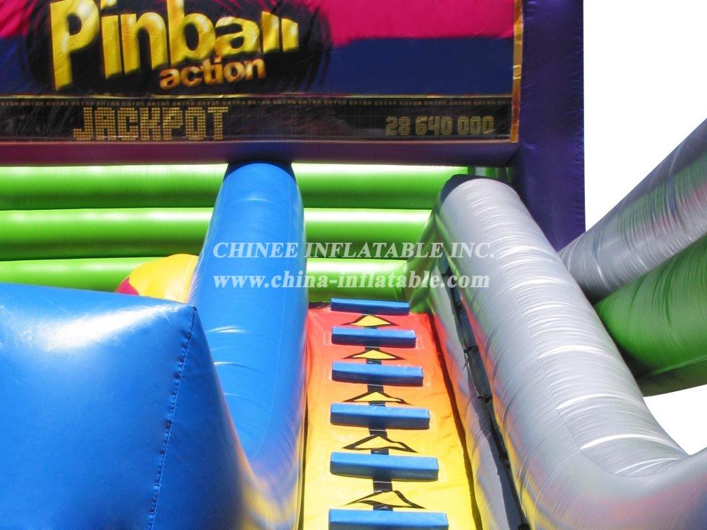 T11-223 Inflatable Slides Pinball Action Medium