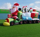C1-181 Inflatable christmas train