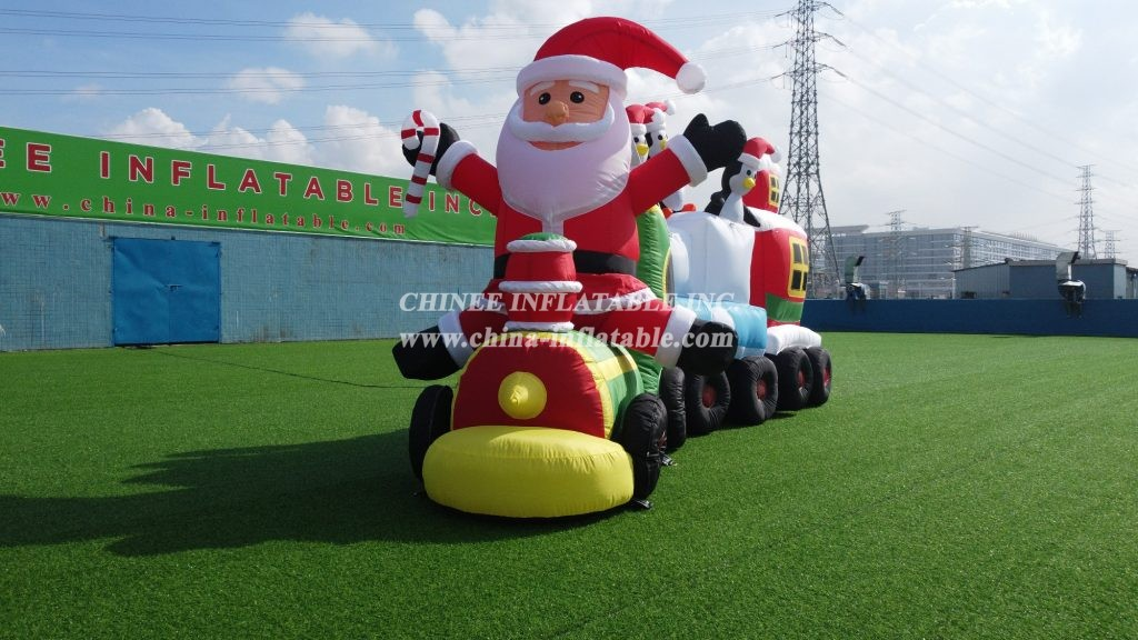 C1-181 Inflatable christmas train