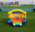 T2-3218 Commercial inflatable Minion bouncer castle combo for party carnival