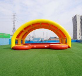 Pool3-003 Swimming Pool with tent inflatable pool house