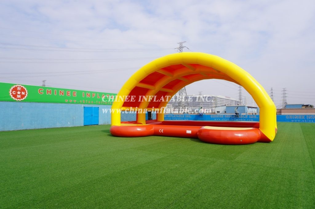 Pool3-003 Swimming Pool with tent inflatable pool house from Chinee inflatables