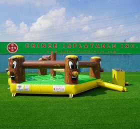 T11-1000 Exciting inflatable meltdown game