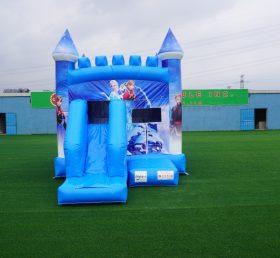 T5-701B Frozen castle Disney's Frozen combo Elsa's Palace Inflatable Bouncer