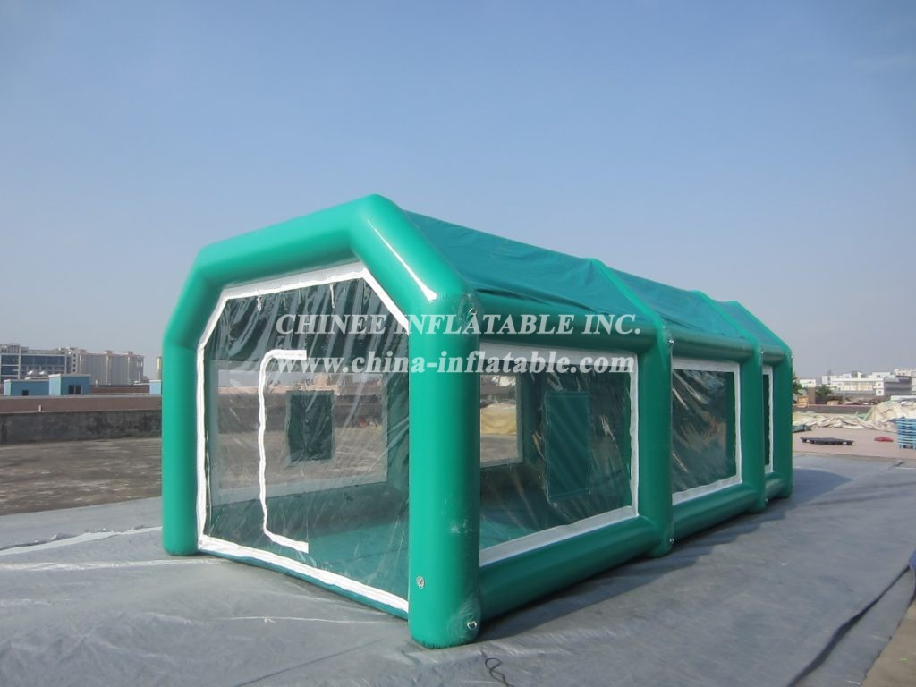 TENT2-002 inflatable paint booth