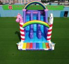 T8-2100 Unicorn slide inflatable dry slide Childrens Unicorn Themed Bouncy Castle