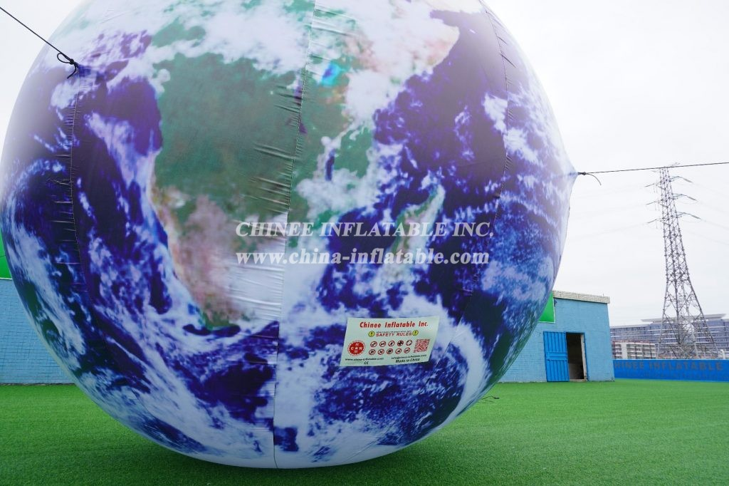 EH-01 Giant inflatable Earth ball