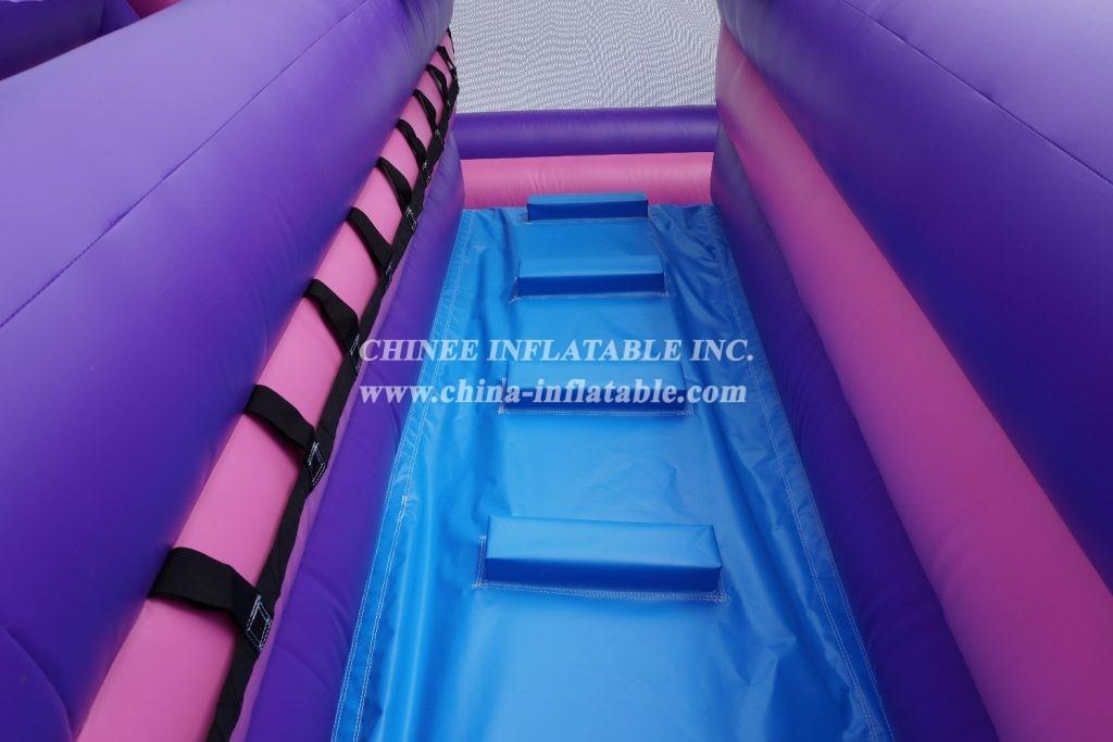 T8-2100 Unicorn slide inflatable dry slide Childrens Unicorn Themed Bouncy Castle