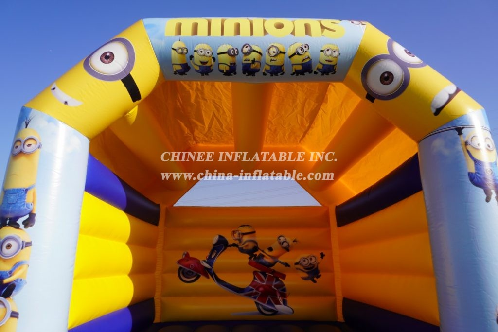 T2-012 Minions Jumping Air Bouncer
