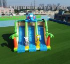 T8-2103 Jungle theme inflatable elephant slide animal inflatable slides