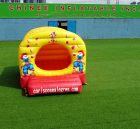 T2-1254 Clown theme inflatable bouncer