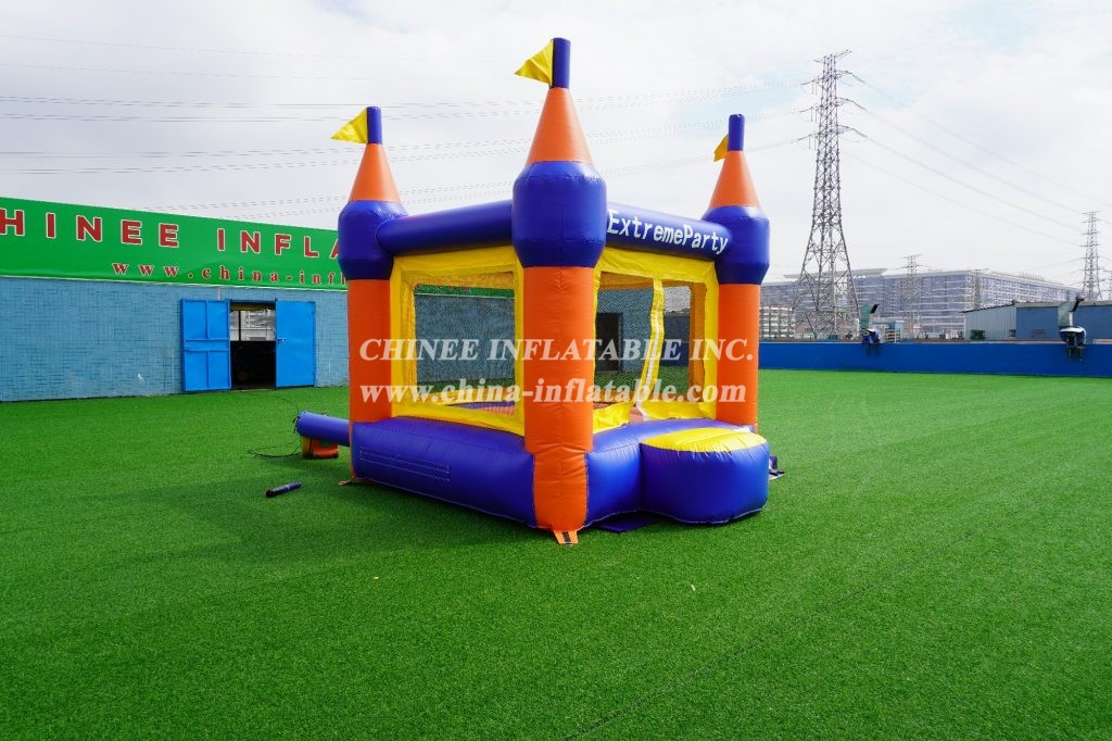 T2-3116 Castle theme inflatable bouncer