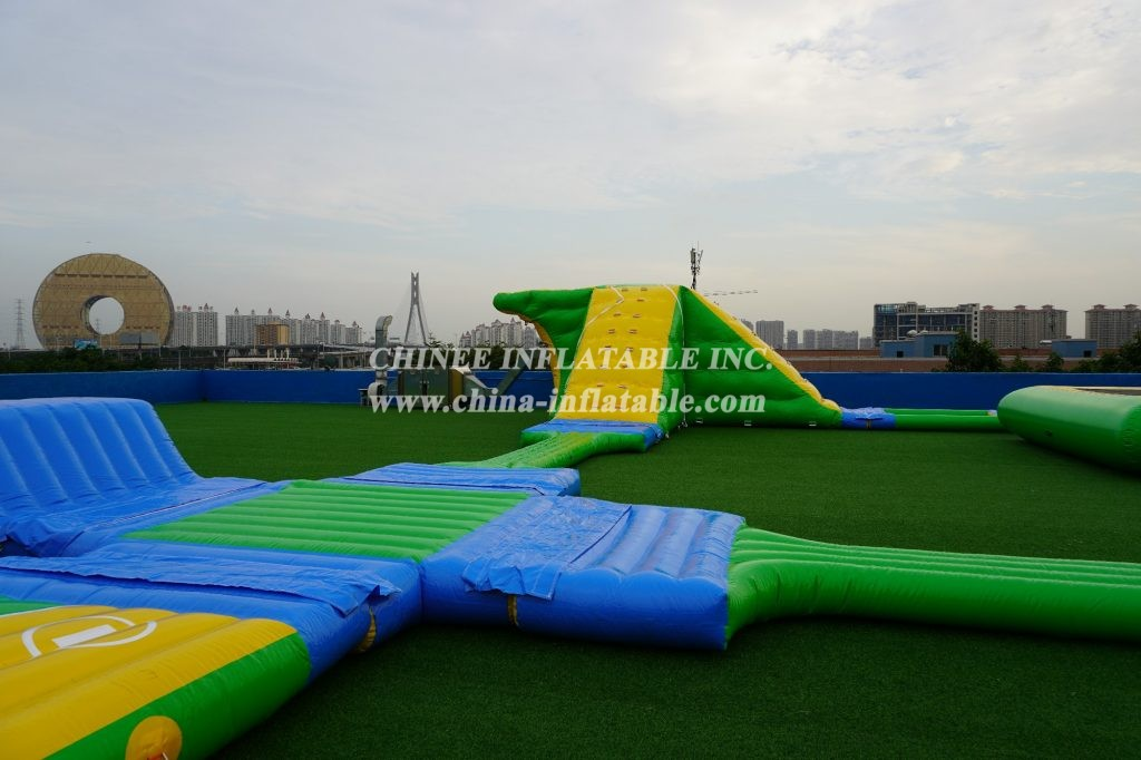 S4 Inflatable Floating Water park Aqua park from Chinee inflatables