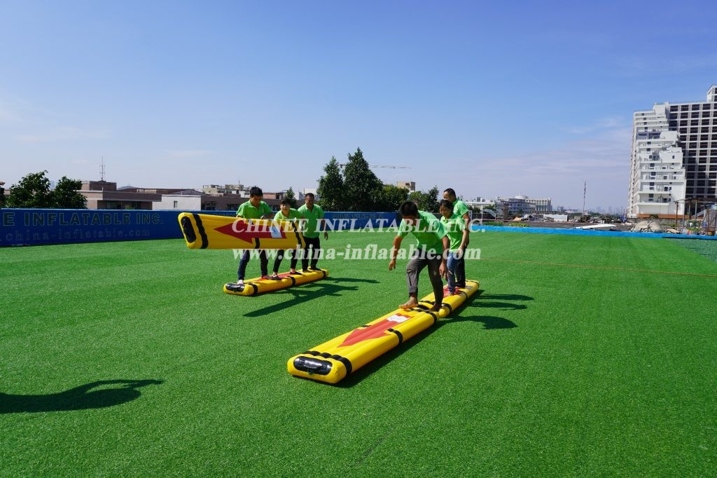 T11-2004 inflatable sport cooperative walking