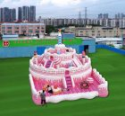 T6-1002  inflatable birthday cake