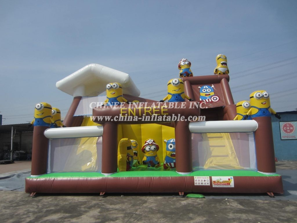 T6-004 Minions Inflatable Funcity