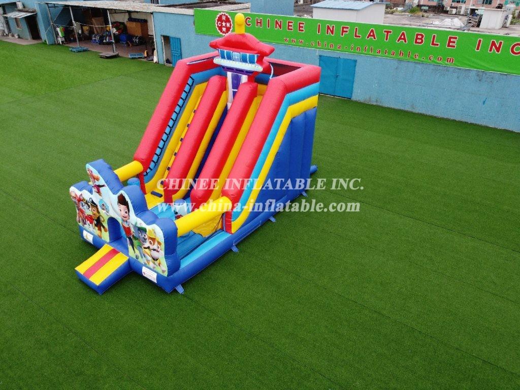 T8-2105 PAW Patrol inflatable slide