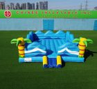 T2-5007  Inflatable bouncer inflatable trampoline moonwalk jumper