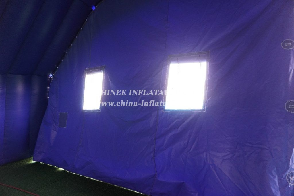 tent1-700 Inflatable tent giant Outdoor Camping Party Advertising Event big blue tent