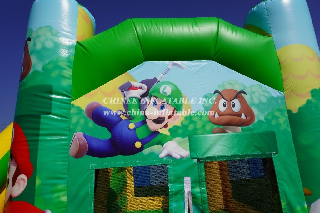 T2-3226G Mario & Friends Bounce Combo from Chinee inflatables