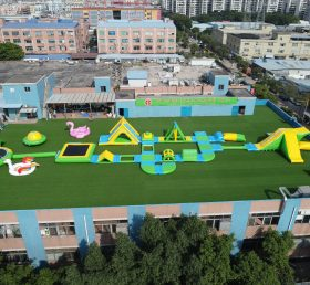 S4-B Inflatable water park Aqua park Water Island from Chinee inflatables
