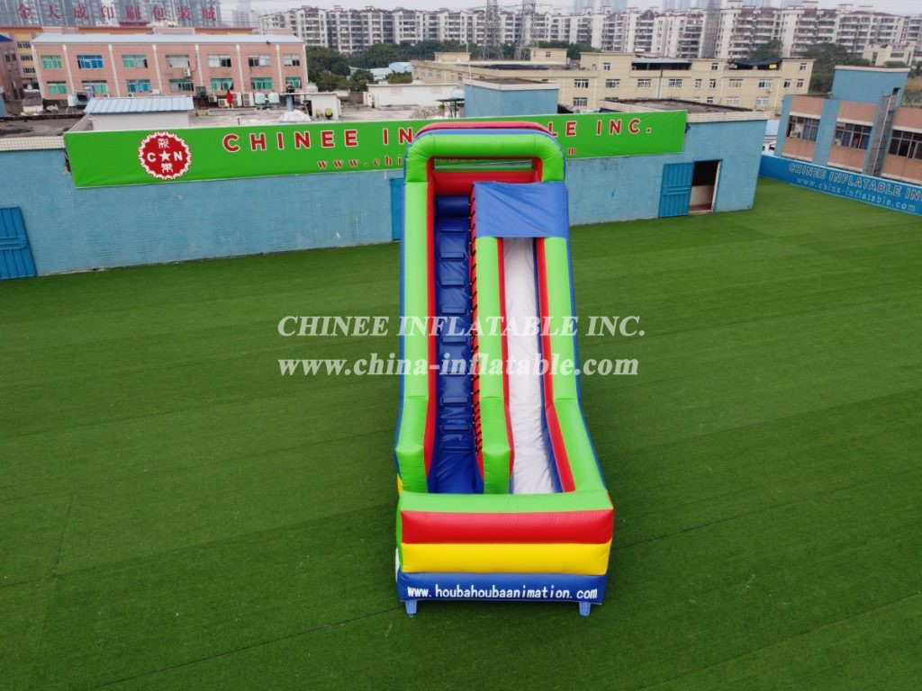 T8-444B Classic inflatable slide outdoor slide dry slide from Chinee inflatables