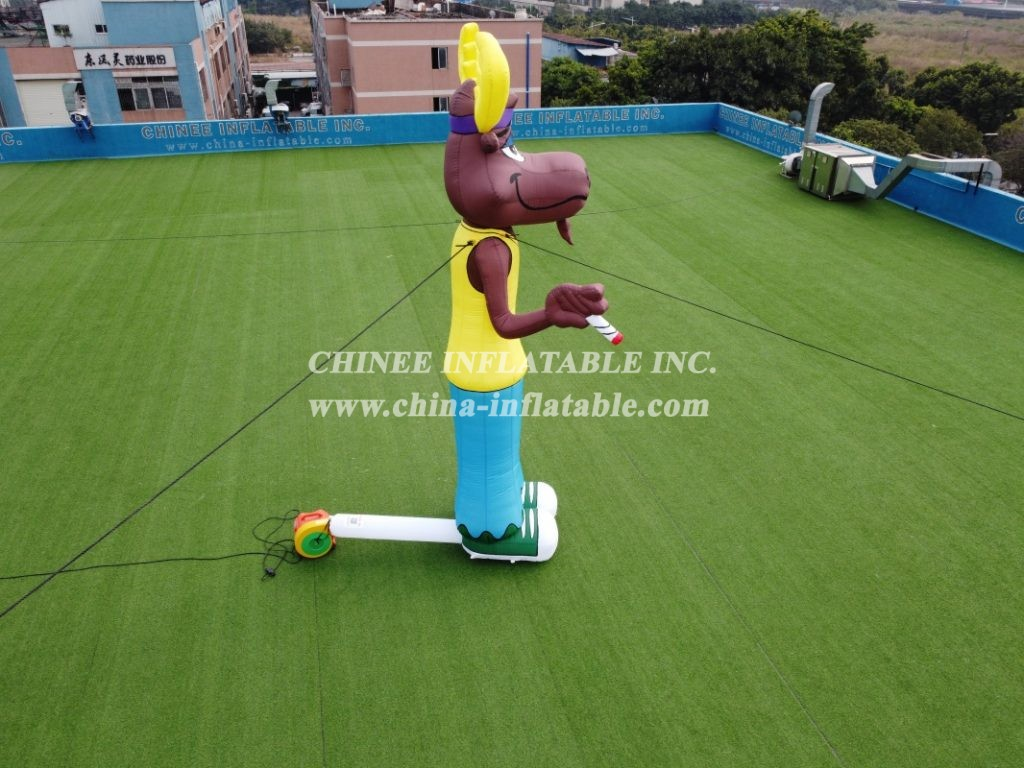 CA-01 giant outdoor inflatable moose inflatable character inflatable advertising  5m height