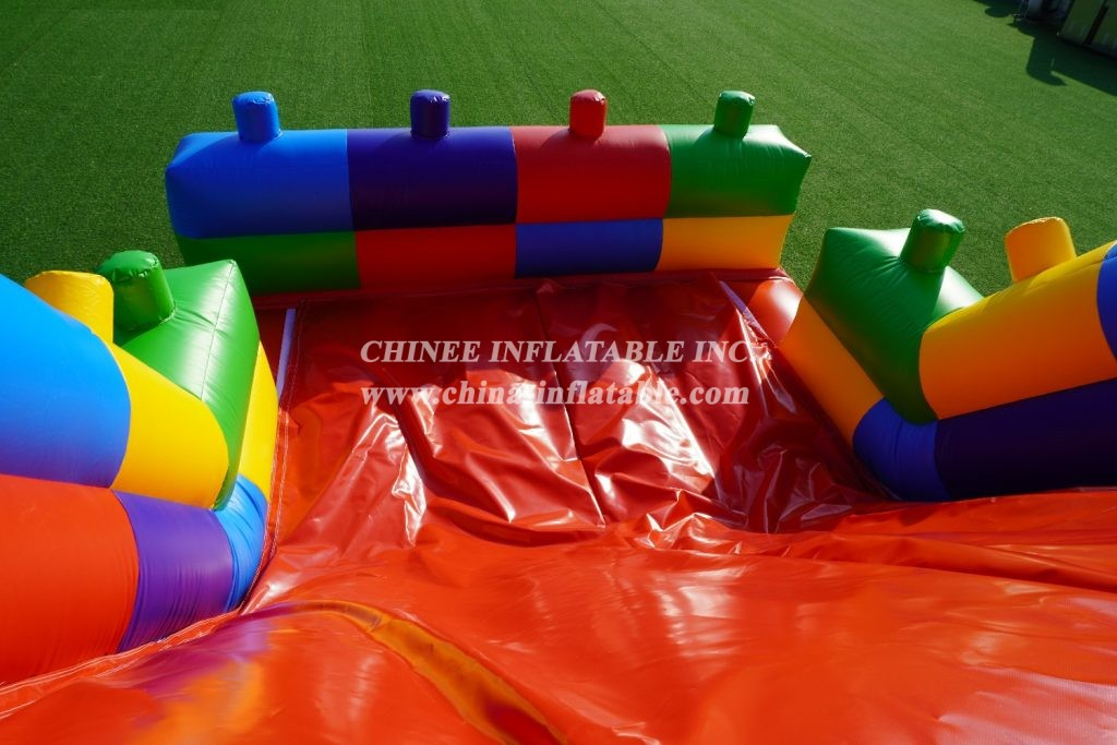 T7-317B Lego Inflatable Obstacles Courses