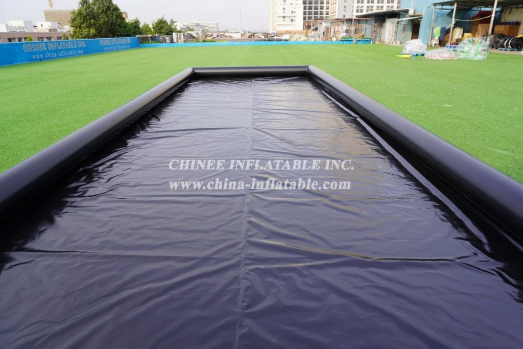 Pool3-005 Portable inflatable car wash pad from Chinee Inflatable