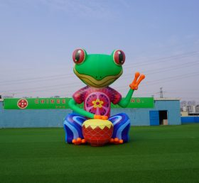 CA-02 giant outdoor inflatable Frog inflatable character inflatable advertising  5m height