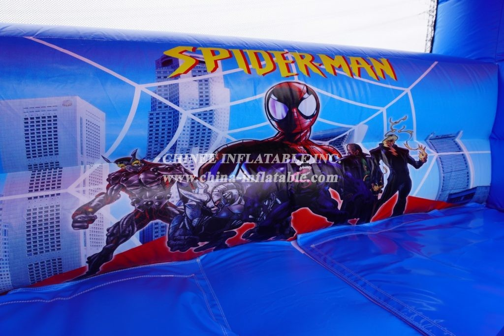T8-3803 Spider-Man Inflatable Slide from Chinee inflatables