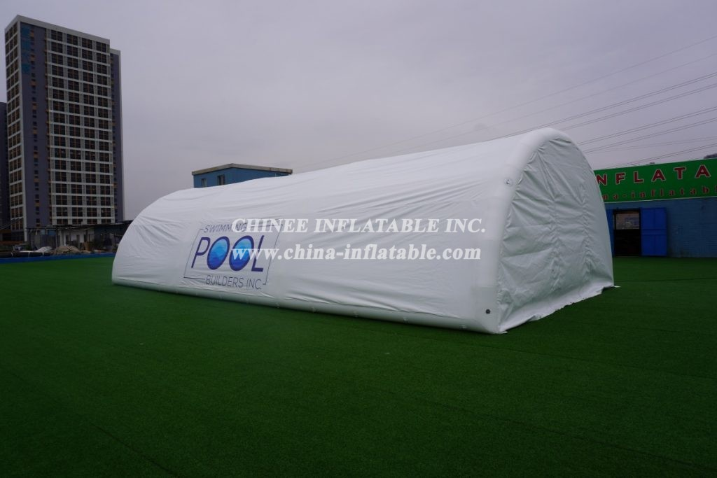 tent1-652B Inflatable pool tent winter tent outdoor canopy