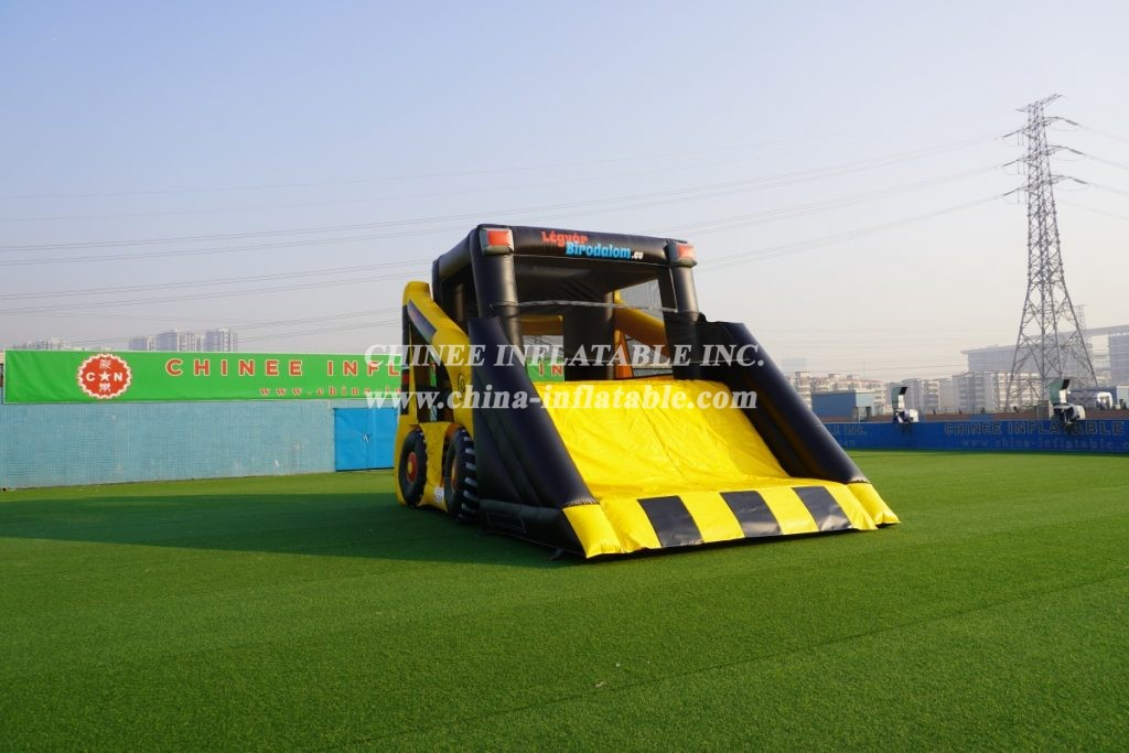 T2-3500 commercial inflatable truck slide