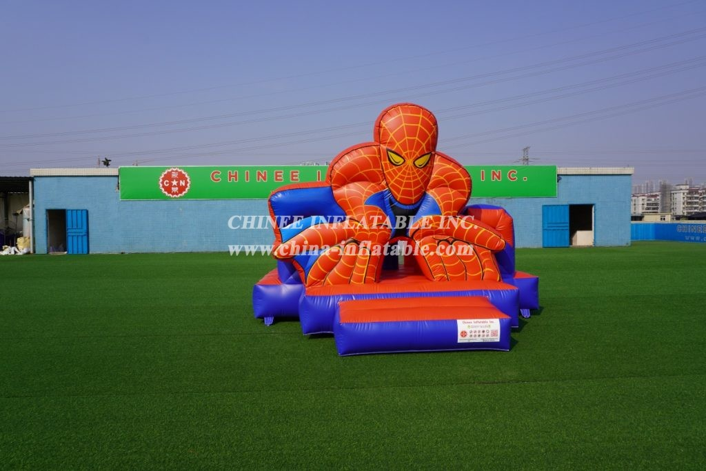 T2-783B Spiderman bouncer Spidey 3D Jumper moonwalk