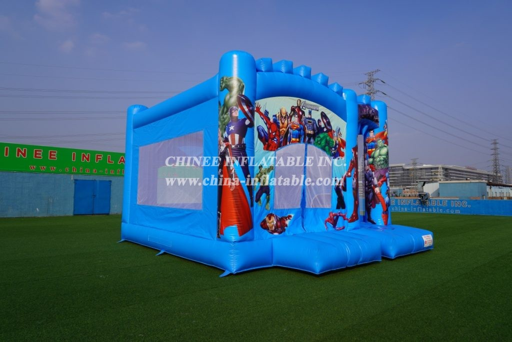 T5-001A Marvel's Avengers theme Inflatable Combos
