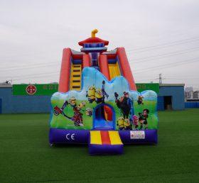 T8-2105B Minions Inflatable Slides