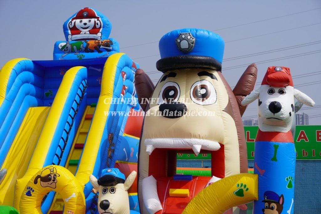 T2-3901 Huge Paw Patrol Bouncy Castle