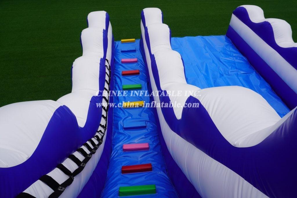 T8-3807 Inflatable wave slide classic slide for pool commerical slide